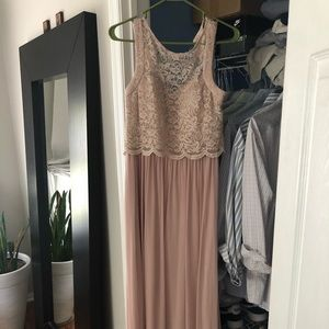 Long gown size 8 prom dress